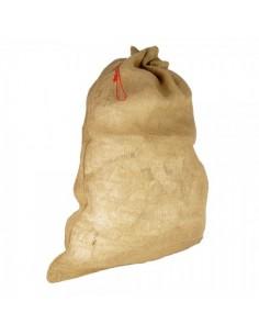 Saco de papá noel de yute para la decoración navideña de centros comerciales calles tiendas