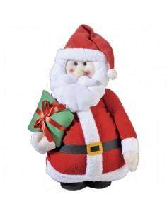 Papá noel de pie extensible para la decoración navideña de centros comerciales calles tiendas