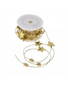 Cinta decorativa de estrellas brillantes para la decoración navideña de centros comerciales calles tiendas