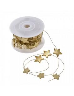 Cinta decorativa de estrellas mate para la decoración navideña de centros comerciales calles tiendas