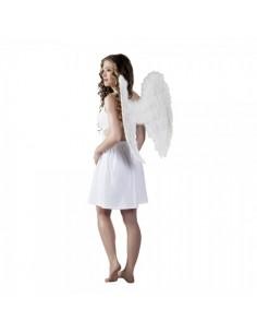 Alas de ángel de plumas para la decoración navideña de centros comerciales calles tiendas