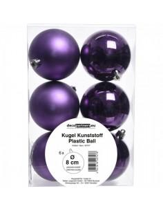 Bola de navidad brillo-mate para la decoración árboles navideños para tiendas y centros comerciales