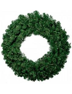Corona de navidad de abeto 528 ramas para la decoración de centros comerciales calles y tiendas