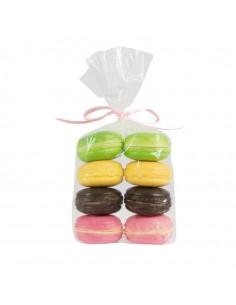 Imitación de galletas de colores macarrones italianos para heladerías cafeterías y la decoración de escaparates de tiendas