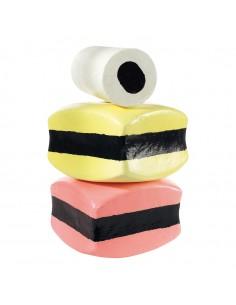 Imitación de dulce de regaliz para heladerías cafeterías y la decoración de escaparates de tiendas
