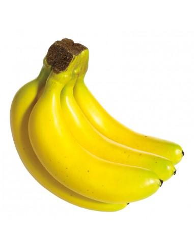 Imitación de plátano-banana para fruterías y la decoración de escaparates de tiendas o comercios