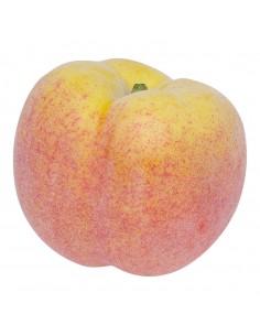 Imitación de melocotón para fruterías y la decoración de escaparates de tiendas o comercios