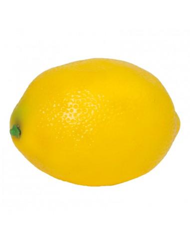 Imitación de limón entero para fruterías y la decoración de escaparates de tiendas o comercios
