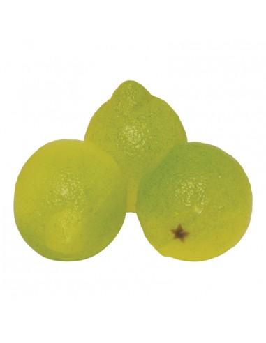 Imitación de limones enteros para fruterías y la decoración de escaparates de tiendas o comercios