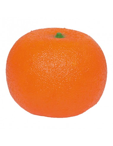 Imitación de mandarina para fruterías y la decoración de escaparates de tiendas o comercios