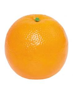 Imitación de naranja para fruterías y la decoración de escaparates de tiendas o comercios