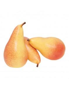 Imitación de peras de agua para fruterías y la decoración de escaparates de tiendas o comercios