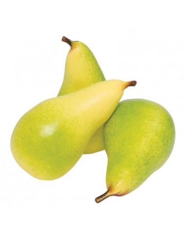 Imitación de peras para fruterías y la decoración de escaparates de tiendas o comercios