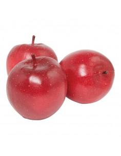 Imitación de manzanas red para fruterías y la decoración de escaparates de tiendas o comercios