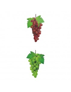 Racimo de uvas impreso ambos lados para fruterías y la decoración de escaparates de tiendas o comercios