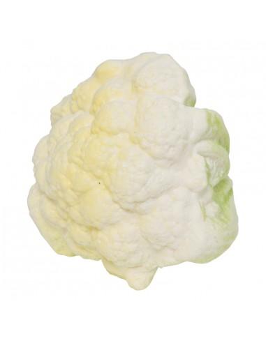 Imitación de coliflor para fruterías y la decoración de escaparates de tiendas o comercios