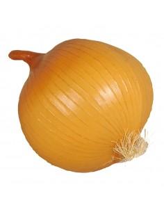 Imitación de cebolla  para fruterías y la decoración de escaparates de tiendas o comercios
