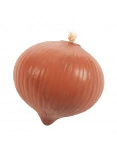 Imitación de cebolla cabezona para fruterías y la decoración de escaparates de tiendas o comercios