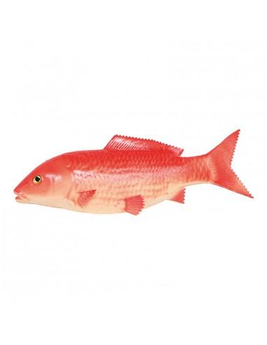 Imitación de carpa koi para pescaderías y la decoración de escaparates de tiendas o comercios