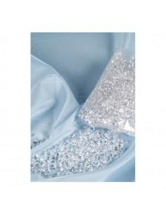 Imitación de cubitos de hielo pequeños para pescaderías y la decoración de escaparates de tiendas o comercios