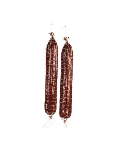 Imitación de salami para charcuterías y la decoración de escaparates de tiendas