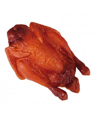 Imitación de pollo asado para charcuterías y la decoración de escaparates de tiendas