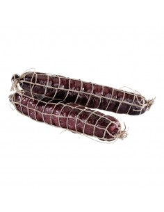 Imitación de salami con tripa para charcuterías y la decoración de escaparates de tiendas