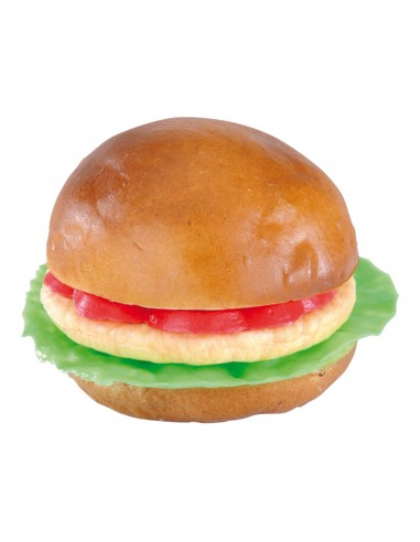 Imitación de hamburguesa vegetal para charcuterías y la decoración de escaparates de tiendas