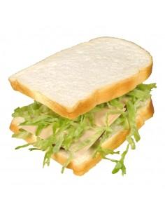 Imitación de pan de molde para sándwich para panaderías pastelerías y escaparates de tiendas