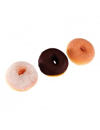 Imitación de berlinas-donuts variados para panaderías pastelerías y escaparates de tiendas