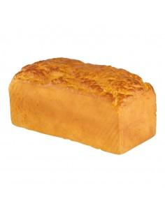 Imitación de pan de molde entero al horno para panaderías pastelerías y escaparates de tiendas