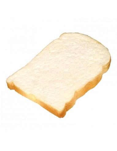 Imitación de rebanada de pan de molde para panaderías pastelerías y escaparates de tiendas