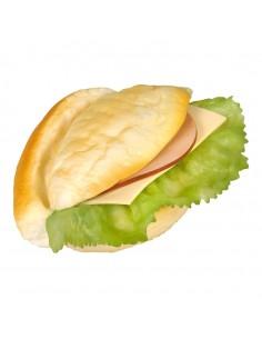 Imitación de panecillo para bocadillo para panaderías pastelerías y escaparates de tiendas
