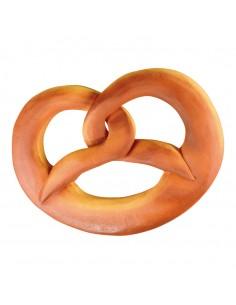 Imitación de pretzel gigante para panaderías pastelerías y escaparates de tiendas