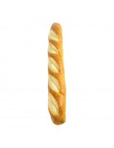 Imitación de barra de pan de medio para panaderías pastelerías y escaparates de tiendas