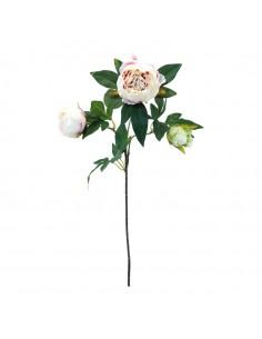 Flor peonía para escaparates de primavera en tiendas y centros comerciales
