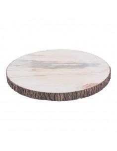 Disco de madera para la decoración otoñal de escaparates y espacios