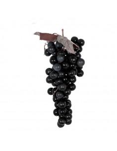 Uva negra decorativa para la decoración de la vendimia en licorerías catas bodegas de vino