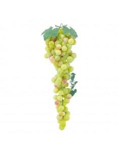 Uva verde decorativa para la decoración de la vendimia en licorerías catas bodegas de vino