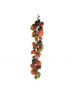 Guirnalda de hojas de vid para la decoración de la vendimia en licorerías catas bodegas de vino
