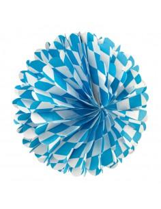 Farolillo de papel nido de abeja para la decoración de fiestas populares y escaparates