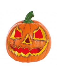 Calabaza con cara terrorífica Para escaparates y fiestas en Halloween