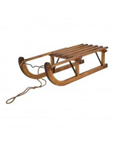 Trineo de madera Para escaparates de invierno en tiendas y centros comerciales