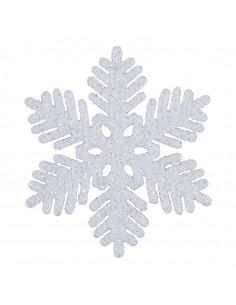 Copo de nieve Para escaparates de invierno en tiendas y centros comerciales