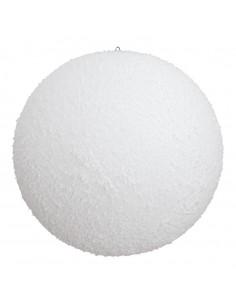 Bola de nieve Para escaparates de invierno en tiendas y centros comerciales
