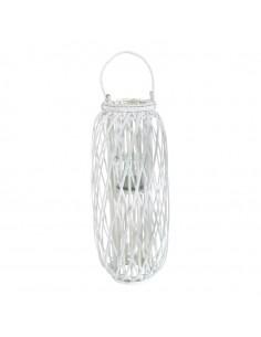 Linterna de cristal para la decoración navideña de centros comerciales calles tiendas