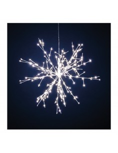Estrella de nieve con mico LED para la decoración de centros comerciales calles y tiendas