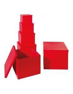 Caja de cartón XXL para la decoración de árboles de navidad