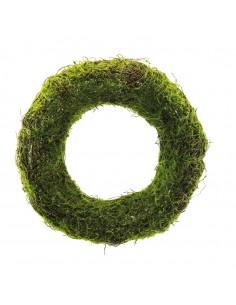 Corona de hierba decorativa para la decoración de centros comerciales calles y tiendas