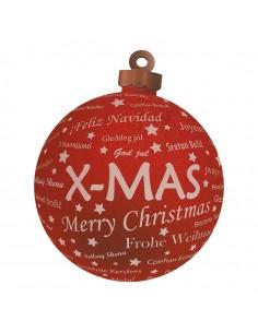 Bolas de navidad para la decoración árboles navideños para tiendas y centros comerciales